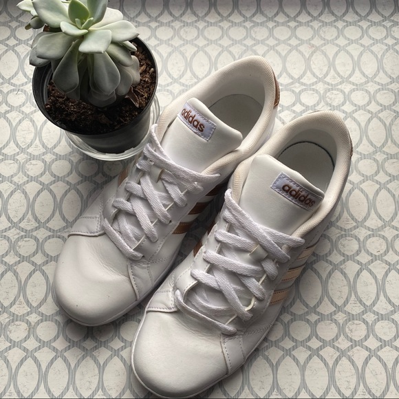 adidas Shoes | Rose Gold Trainers